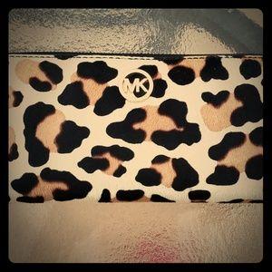 Michael Kors Calf Hair Wallet